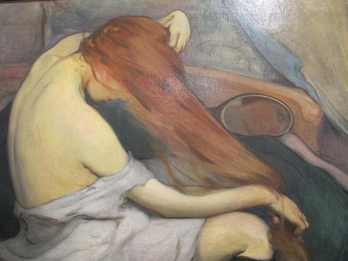 Bathing Redhead